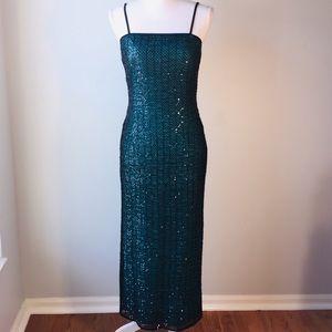 Papell Boutique Sequin Dress